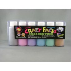 Metallic Asstd Face Paint 60ml