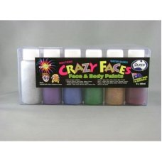 Glitter Asstd Face Paint 60ml