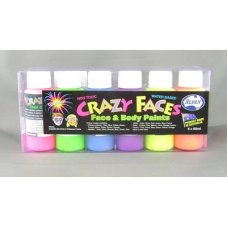 Fluro Asstd Face Paint 60ml