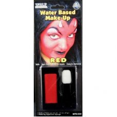 Red (WPE-030) Body Art Paint with applicator P1