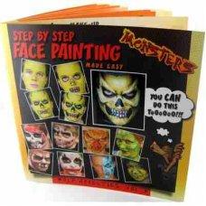 Vol 3. Monsters (WNB-03) Body Art Instruction Book P1
