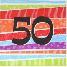Printed 50 Napkin P25