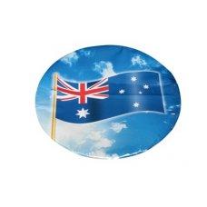 Australian Flag Paper Dinner Plate 9in P8