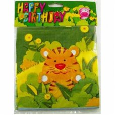 SPECIAL! Party Animals Napkins 2 Ply P12