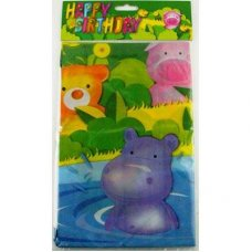 SPECIAL! Party Animals Tablecover Printed P1