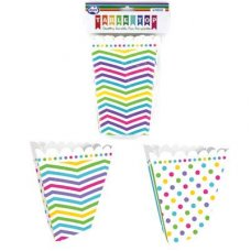 CLEARANCE! Rainbow Popcorn Box Mixed P6