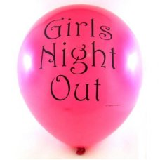 SPECIAL! Latex Balloons Printed Girls Night Out P6