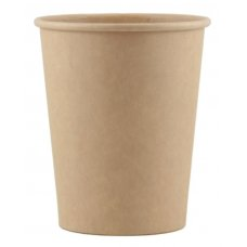 Coffee Cup 8oz. Single Wall Kraft ctn 1000 P50x20