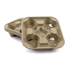 Cup Holder Moulded 4 cup Ctn 200