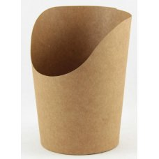 Wrap Cup Kraft Open Top 100x60mm dia ctn 1000 P50x20