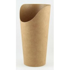Wrap Cup Kraft Open Top 160x60mm dia ctn 1000 P50x20
