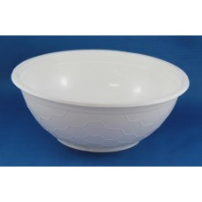 Plastic Bowl Soup/Laksa 1050ml 36oz. PP White 50x8