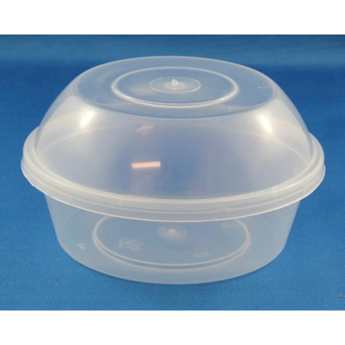 Pp Food Container ~ Round disposable food container ml pp clear