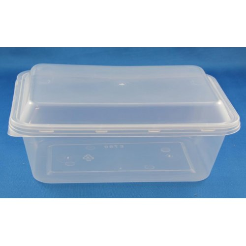 Pp Food Container ~ Rect disposable food container ml pp clear