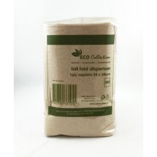 Dispenser Napkin ECO BROWN Tall fold 240mmx240mm P250x20