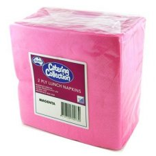 Magenta  2ply Lunch Napkin P100x20