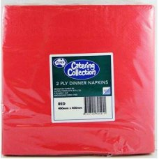 Red  2ply Dinner Napkin P100x10