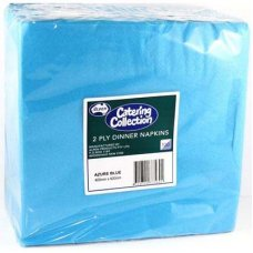 Azure Blue  2ply Dinner Napkin P100x10