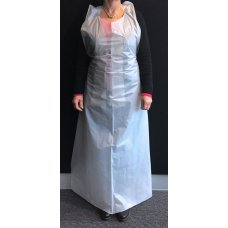 Apron Plastic White 90x150 Medium P50