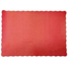 Placemat Red 9.5x13.5in (240x342mm) P250x4