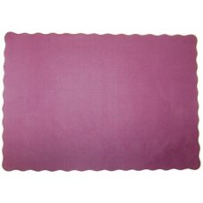 Burgundy 9.5x13.5in (240x342mm) Placemat P250x4