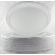 Plate Oval 11.5x9in 290x230mm P50