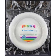 Lunch Plate White 180mm P8