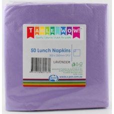 Lavender Lunch Napkin 30x30cm 2ply P50