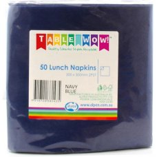 Dark Blue Lunch Napkin 33x33cm 2ply P50