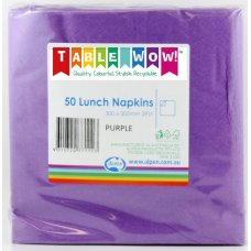 Purple Lunch Napkin 30x30cm 2ply P50