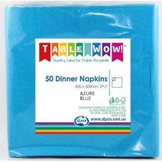 Azure Blue Dinner Napkin 40x40cm 2ply P50