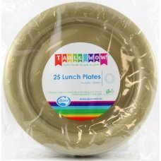 Gold Lunch Plate P25