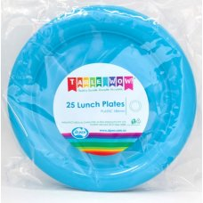 Azure Blue Lunch Plate P25