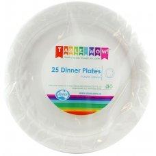 White Dinner Plate P25