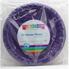 Purple Dinner Plate P25
