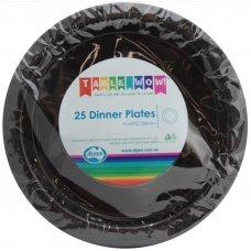 Black Dinner Plate P25