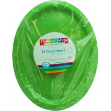 Lime Oval Plate P25