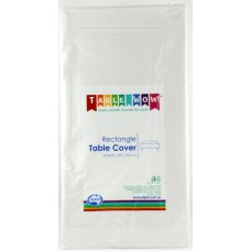 White Rectangle Tablecover P1