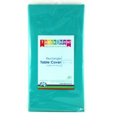 Teal Rectangle Tablecover P1