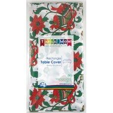 Christmas Printed Rectangle Tablecover P1