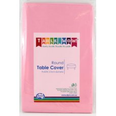 Light Pink Round Tablecover P1