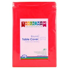 Red Round Tablecover P1