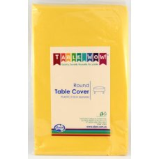 Yellow Round Tablecover P1