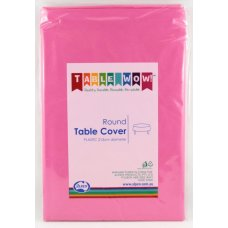 Magenta Round Tablecover P1