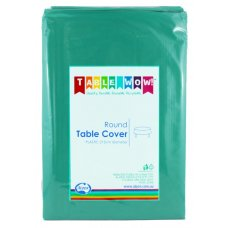 Teal Round Tablecover P1