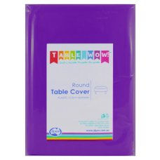 Purple Round Tablecover P1