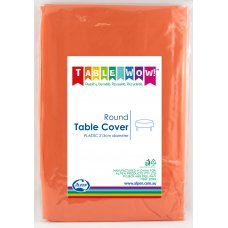 Orange Round Tablecover P1