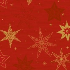 Star Stories Red Classic 4ply Napkin (188242) P50x6