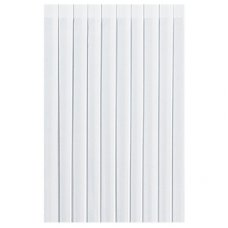 White Dunicel Pleated Tableskirts (9043) 5 skirts