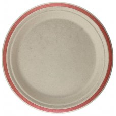 Sugarcane Lunch Plates 180mm Rose Gold P10x10